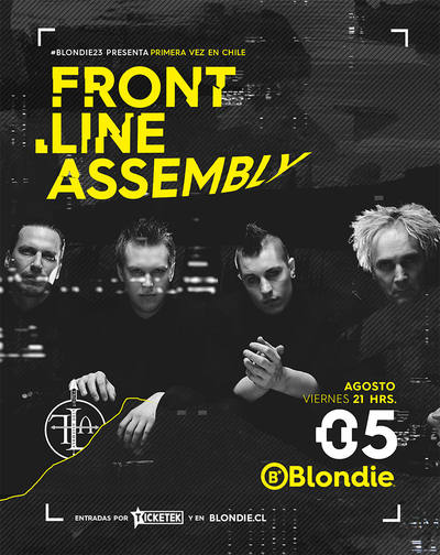Front Line Assembly en Chile 2016