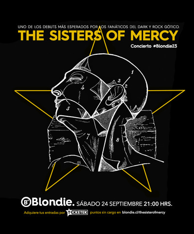 The Sisters of Mercy en Chile 2016