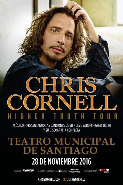 CHRIS CORNELL en Chile 2016.11.28