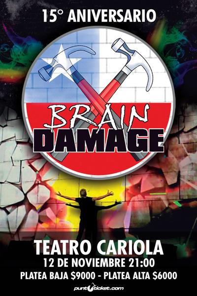 BRAIN DAMAGE celebra 15 años 2016.11.16