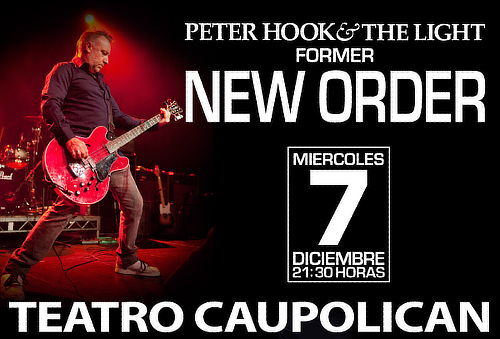 Peter Hook & The Light en Chile 2016.12.07