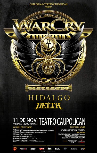 Warcry en Chile 2016.11.11