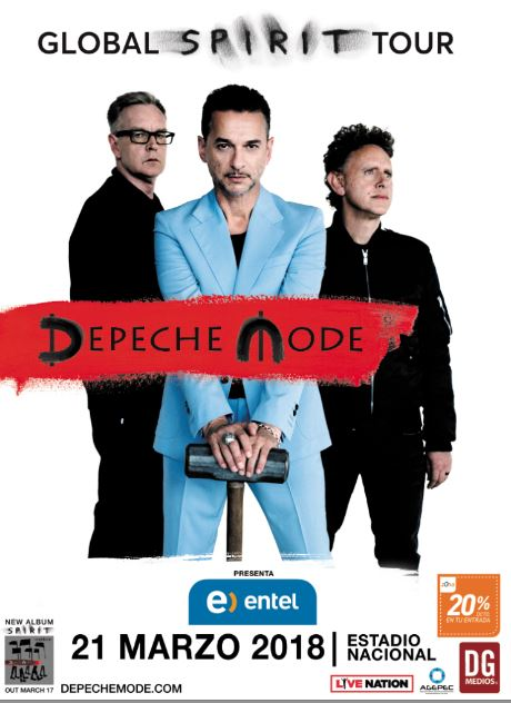 "Depeche Mode ""Global Spirit Tour"" Chile 2018.03.21"