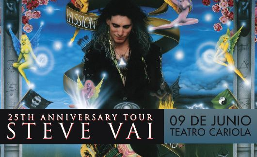 Steve Vai - Passion and Warfare 25th Anniversary Tour 2017.06.09
