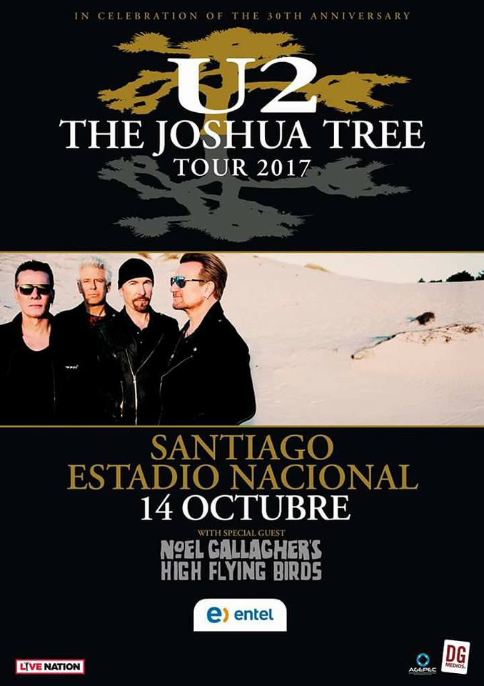 U2 The Joshua Tree Tour 2017.10.14