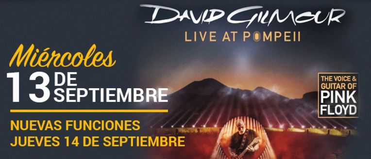 David Gilmour Live at Pompeii 2017.09.13