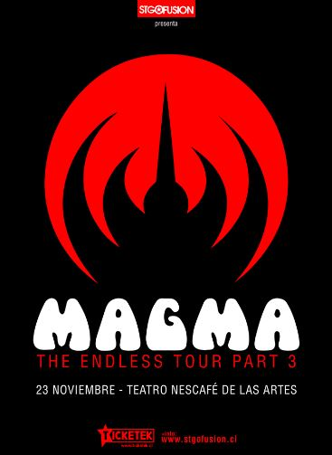 MAGMA THE ENDLESS TOUR PART 3 2017.11.23