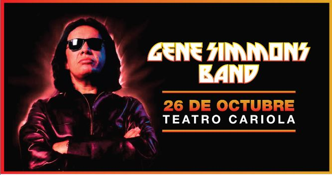Gene Simmons & His Band en Chile 2017.10.26