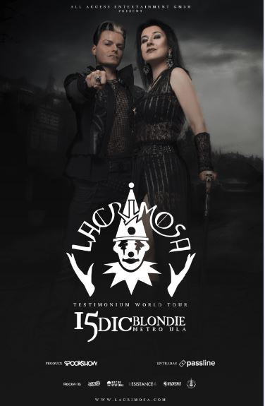 LACRIMOSA TESTIMONIUM WORLD TOUR Chile 2017.12.15