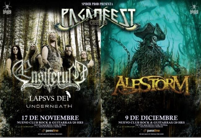 Paganfest Chile 4: Ensiferum 2017.11.17