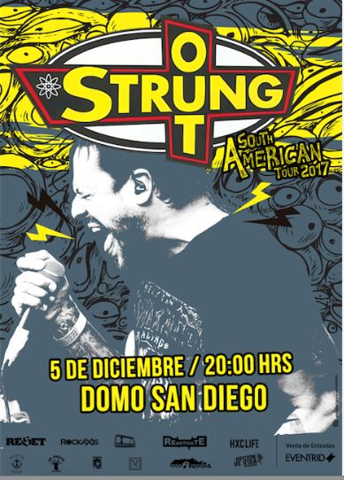 Strung Out en Chile 2017.12.05