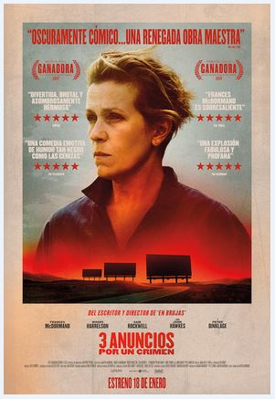 3 Anuncios por un Crimen (Three Billboards Outside Ebbing, Missouri)