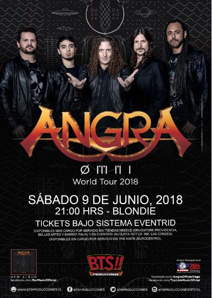 Angra ØMNI World Tour Chile