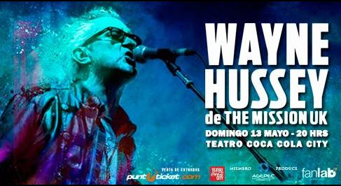 Wayne Hussey de The Mission UK