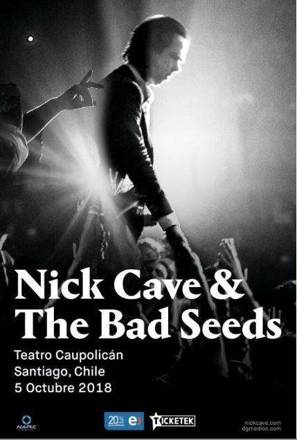 Nick Cave & The Bad Seeds en Chile
