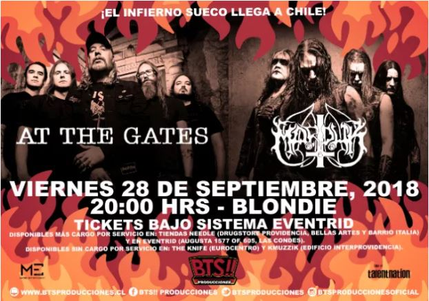 At The Gates + Marduk