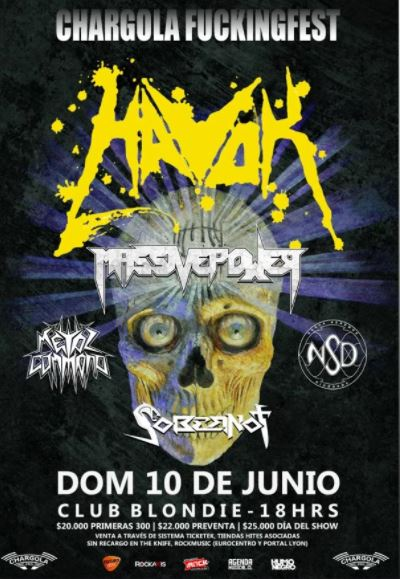 Havok en Chile 2018.06.10