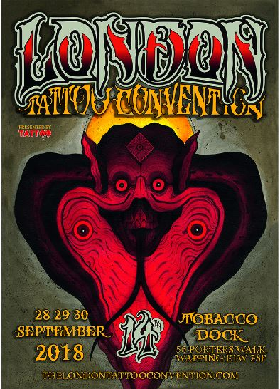 London Tattoo Convention 2018