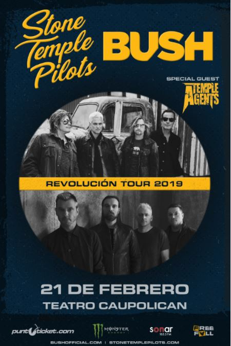 Stone Temple Pilots y Bush 2019.02.21