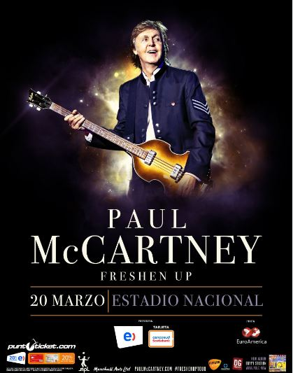 Paul McCartney en Chile