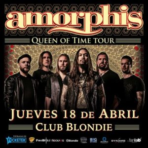 Amorphis en Chile: Queen Of Time Tour