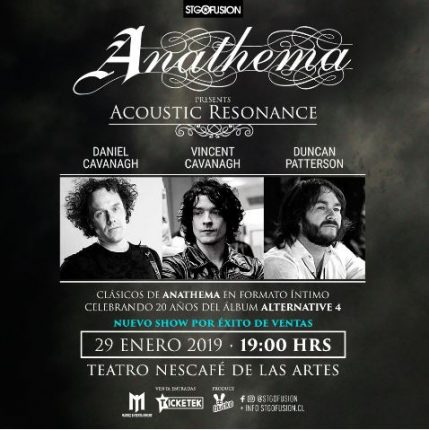 Anathema Acoustic Resonance en Chile